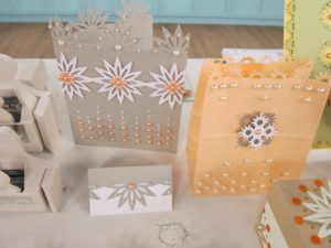 These great projects were made with the punches and our pearl embellishments.