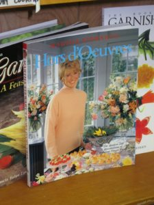 Hors d'Oeuvres, from 1984, was rereleased in soft cover with an updated photo.