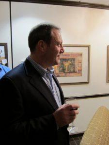 Jeff Moskowitz listening intently