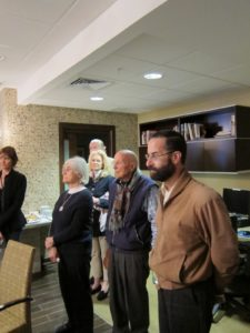 More supporters and board members of the new emergency room, including Mark Schwartz