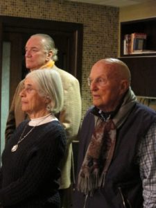 Nancy and Jerry Kohlberg and Guy Wyser-Pratte