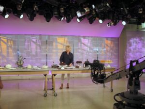 Last week on Today, I demonstrated four of the six icing recipes from the September issue of Martha Stewart Living.