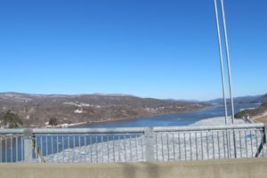 This bridge connects the northwestern corner of Westchester County to the lovely Bear Mountain State Park and nearby West Point Military Academy.