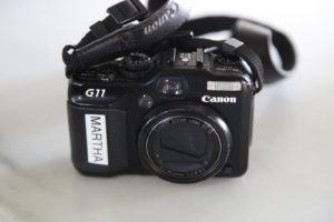 My Canon G11 camera - I wouldn't leave home without it!