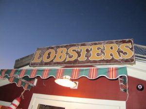 Lobsters are their thing, but there are so many other great offerings on the menu.