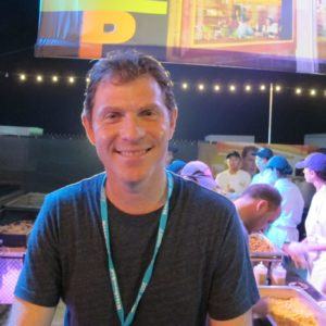For the third time, Bobby Flay was the host of BubbleQ.