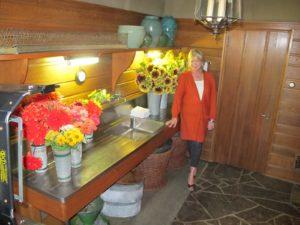 The flower room at Skylands