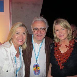 Susan Magrino, Alain Ducasse, and me