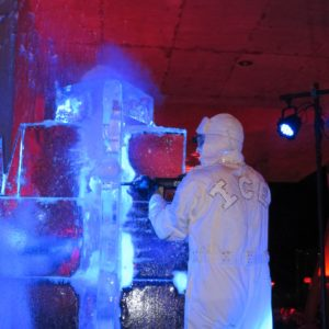 The iceman cometh!