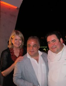 Here I am with Lee Schrager - founder of the festival - and Emeril