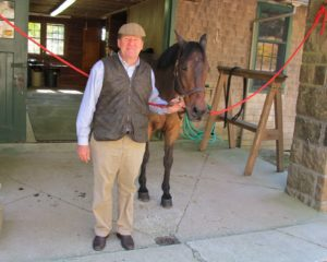 A nice shot of Sem Groenewoud and one of Rockefeller's aristocratic Morgans