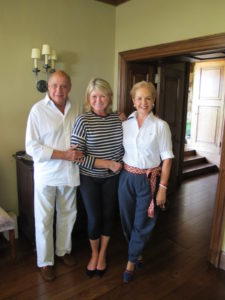 Here I am with Carolina Herrera and her husband, Reinaldo.