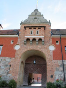 This is the main entrance into the castle and was once heavily fortified.