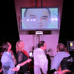 There was even a surprise tribute video for Lee Schrager.
