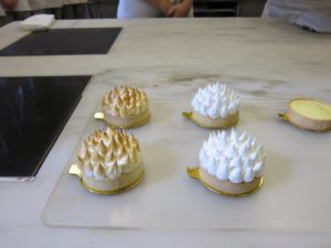 I thought these meringue-topped tartlettes were quite attractive.