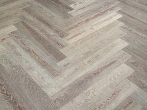 Every room seems to have a different parquet pattern on the floor.