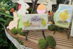 Kopykake printed these edible images from vintage cards that we sent them.