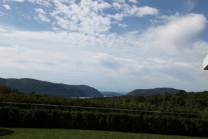 And wonderful views of the Hudson valley - It doesn't take much imagination to see why painters of the Hudson River School found these views so worthy of reproduction on canvas!