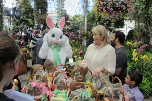 All of the children were given wonderful baskets, including a sweet Steiff bunny.