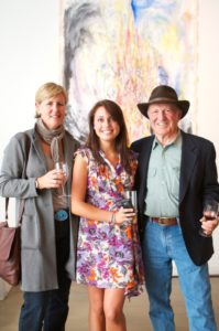 Famed herb farmer Sal Gilbertie with his daugher-in-law and Erin Furey (Sal came all the way from Gilbertie's Herb Farms in Westport Connecticut just to see us!)