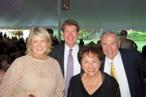 Opening night at Caramoor, Katonah's wonderful music festival, is always a festive affair.  Here I am with James Attwood - Chairman-of-the Board of Caramoor and Congresswomen Nita Lowey (D, NY18th)  and her husband Steve.