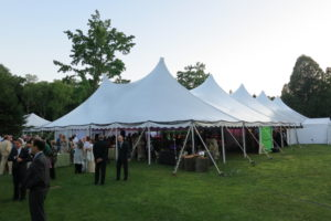The gala tent