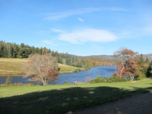 A beautiful view of Long Pond