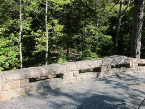 John D. took part in the entire construction process, often making suggestions for exact placement of stones.