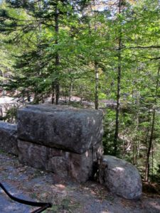 Island granite was quarried for roads and bridges.