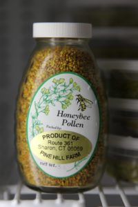 Honeybee pollen from Sharon, CT