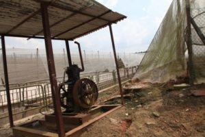 An irrigation pump