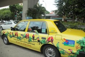 Remember this fancy taxi we saw after out trip to Bollywood Veggies?