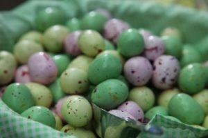 Malted milk eggs