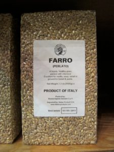 Healthy farro is gaining in popularity and is appearing more and more on menus.