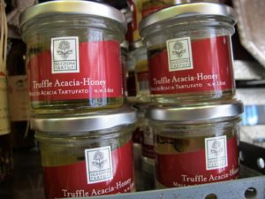 Truffle acacia-honey is excellent served with cheese.