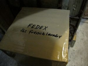 It was interesting to see a shipment going to Chef Thomas Keller's French Laundry in Yountville, California, in the Napa Valley.  I wonder what he ordered?
