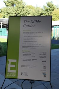 Within The Edible Garden is The Culinary Herb Garden which my team and I designed.