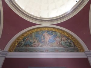"""And this rotunda mural is called """"Rome"""" by Elihu Vedder, 1894."""