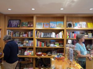 The Bowdoin College Museum of Art gift shop is filled with interesting books and curios.  Like many museum shops, it's a great place to shop for unusual gifts.