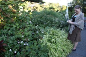 Stacey Hirvela - Senior Associate Garden Editor at MSLO really enjoyed seeing the herb garden.