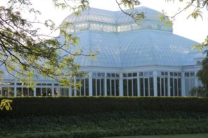 Although temporarily closed, the Enid A. Haupt Conservatory, the nation's largest Victorian glasshouse, is among the grandest indoor spaces in the world.