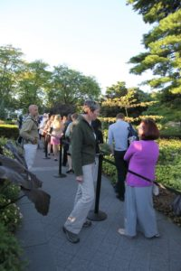 Kristin Schleiter - Manager of Outdoor Gardens and Herbaceous Plants at NYBG and Tony Bielaczyc - Deputy Garden Editor at MSLO answer questions from the crowd.