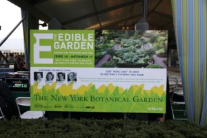 The Edible Garden features celebrity chefs Mario Batali, Daisy Martinez, Rick Bayless, and Lidia Bastianich.