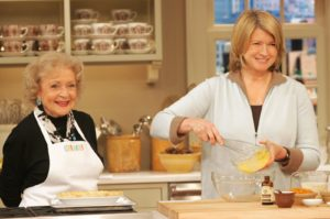 Octogenarian Betty White declared that you shouldn't get to her age and not know how to make pie crust!