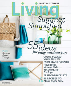 This is the August issue filled with great ideas - look for it on newsstands!