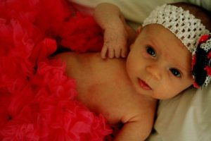 Leah Alexandra Ritz, 9 weeks.