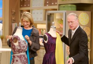 It's always fun being with Tim Gunn.  He explained a bit of the art of draping fabric.