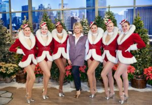 It was so much fun joining the line of the world-famous, high-kicking Radio City Rockettes.