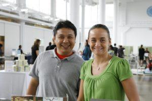 Levi Garcia and Tina Mohyla