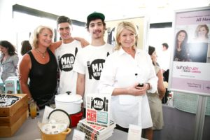 Here I am with Lucinda Scala Quinn and her sons, Calder and Miles.  Lucinda's blog is called Mad Hungry http://www.mad-hungry-lsq.blogspot.com/ and so is her latest cookbook!